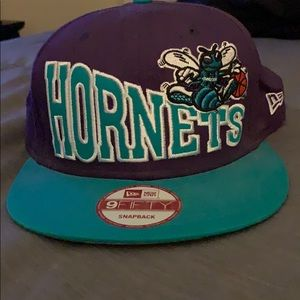 Hornet basketball hat